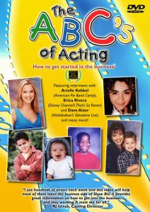 ABC's of Acting Video and DVD - front