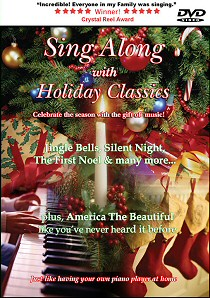 Sing Along with Holiday Classics Music Video - front cover
