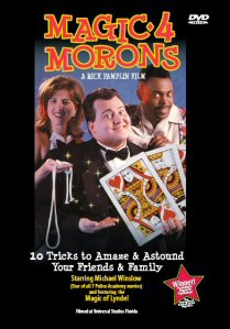 Magic 4 Morons DVD - front